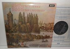 SXL 6539 Mozart Sym No.38 'Prague' & Schubert Sym No.8 'Unfinished' ECO Britten
