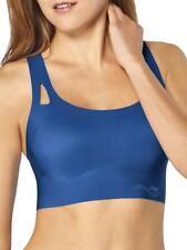 Sloggi Zero Feel Sporty Top Non Wired Bra Womens Lingerie Lagoon Blue 10189941