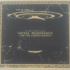 BABYMETAL METAL RESISTANCE THE ONE LIMITED EDITION CD + Blu-ray Used Very Good