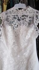 Alfred Angelo Lace Keyhole Back Fit and Flare New Size 12