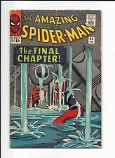 THE AMAZING SPIDER-MAN #33 ==> FN CLASSIC DITKO COVER MARVEL COMICS 1966