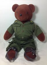 "Vintage 1979 North American Bear Co. Army Parachute Military 21"" Nabco Plush"