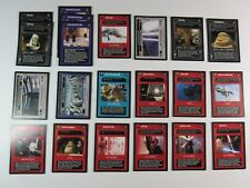 Lot of 21 Cards DS Reflections III BB Limited Decipher Star Wars CCG NM/SP (R3B)