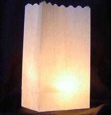 30 Wedding Candle White Paper Bag Lantern Path Party Night Light Luminary