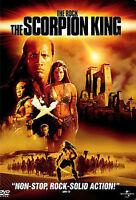 The Scorpion King (DVD, 2002, Widescreen)