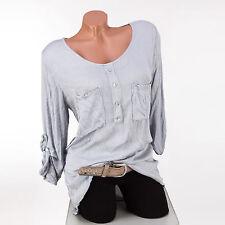 Gepunktete Damenblusen, - Tops & -Shirts im Blusen mit Rundhals-Ausschnitt