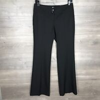 The Limited Women's Size 2 Cassidy Fit Flare Leg Dress Pants Black NEW