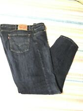 LEVI 505 Men 40 X 32 Jeans Regular Fit Blue Denim Rarely Worn FREE US PRTY SHIP