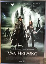 "Van Helsing Original 27""x40"" Double Sided Movie Poster Jackman Beckinsale w/Tear"
