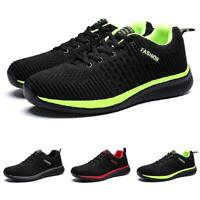 Mens Leisure Sneakers Shoes Outdoor Running Sports Non-slip Lace up Gym Casual
