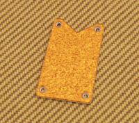 006-0904-000  Gretsch Guitar Gold/Orange Sparkle Falcon Truss Rod Cover Plate