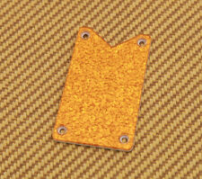006-0904-000  Gretsch Guitar Gold/Orange Sparkle Falcon Truss Rod Cover Plate