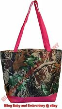 Tote Bag Purse Shopper Mossy Oak Pink Real Tree Camouflage Camo