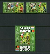 T324  Bosnia & Herzegovina - Serbian   football set (with labels) & sheet   MNH