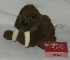 Russ Berrie Luv Pets Wilcox the Walrus #23193 with Tags - Pre-Owned