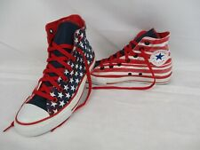 CONVERSE All Star Trainers, CT High Top, Red, Blue, Stars & Stripes, UK 6 Eur 39