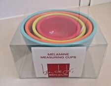 BEN DE LISI AT DEBENHAMS COLOURED MELAMINE MEASURING CUPS / BOWLS