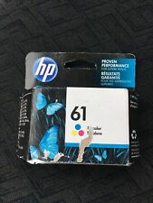 HP 61 (CH562WN#140) Tri-Color Ink Cartridge(box Is A Little Beat Up)