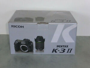 Pentax K-3II with 18-135mm lens, near mint condition