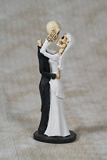Adore A La Muerte - Halloween Skeleton Wedding Couple Bride Groom - ESC 16051