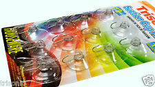 12 x Transparent Suction Cup Sucker For Window Wall Hook Hanger Kitchen Bathroom