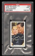 1936 Gallaher Film Episodes #28 PSA 9 MAE WEST & GRANT WITHERS Goin' To Town