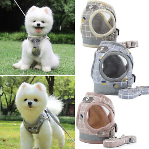 Reflective Design Breathable Chest Strap Dog Harness Pet Traction Rope Collar