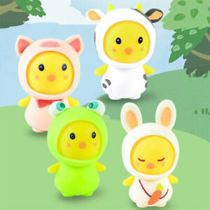 Pinch Squeeze Toys Cartoon Cute Pet Animal Frog Rabbit Undressing and Dressing