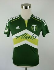 MLS Portland Timbers Alaska #8 Valeri Green Soccer Jersey by Adidas Youth Large