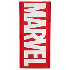 Marvel Logo Beach Towel Red