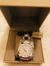 Burberry BU9022 Heritage Swiss Made Women's Watch **NEW WITH TAG**