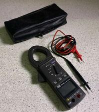 TES 3040 Clamp Meter w/ Probes & Case