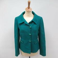 Designer Hobbs London Women's Blazer - Stunning Emerald Teal Jacket - Size UK 8