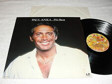 "Paul Anka ""...His Best"" 1977 Pop LP, Nice VG++!, United Artists, RCA Club Issue"