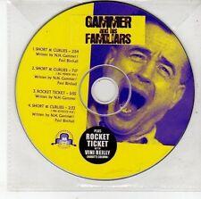 (DV431) Gammer & His Familiars, Short & Curlies / Rocket Ticket - DJ CD