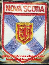 LMH PATCH Badge  CANADIAN Crest  NOVA SCOTIA Flag  COAT of ARMS Canada Emblem rd