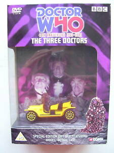 Doctor Who The Three Doctors DVD Limited 40th Edition