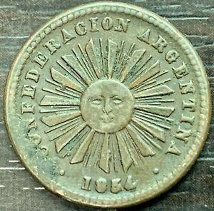 Argentina Confederate - 1 Centavo 1854
