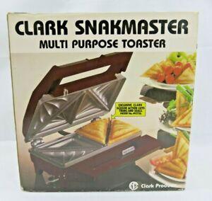 Vintage CLARK SNAKMASTER Multi Purpose Toaster CN613 (Used)