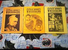 Whizzbang #13 #16 #17 Fan Zines Captain George's Rare Comics 1970s NEAT L@@K!
