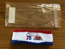 (L@@K) Coors Light Beer Philadelphia 76ers Headband Sweatband NBA Basketball NEW