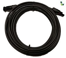10M cable PV solar 4mm Single Core con tapones de pre-plegado MC4 DC nominal 1000V