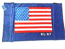 NWT 35 x 66 inch Polo Ralph Lauren BEACH TOWEL USA FLAG RL67 89 x 168 cm America