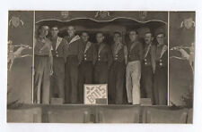 PHOTO Camp prisonnier 1940 Allemagne Stalag VA Théâtre Travestissement Costume