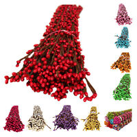 50 pcs Pretty pip berry flower garland stamen for floral bridal wreath for S3E2