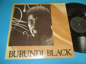 """Burundi Black / Burundi Black (UK 1981, Barclay BAX1) - 12"""" Maxi"""