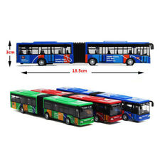 1pc Pull Back Cars Toy Alloy Vehicles Mini Model City Express Double Buses New
