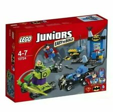 LEGO 10724 JUNIORS Batman and Superman Vs Lex Luthor Superhero SET-EASY BUILD