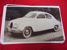 1958 SAAB  96 ?   BIG 11 X 17  PHOTO  PICTURE