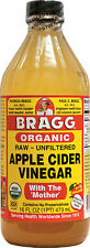 BRAGG APPLE CIDER CIDAR VINEGAR W/ MOTHER RAW UNFILTERED LIQUID DRINK 16 FL OZ
